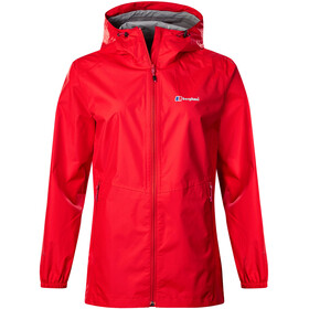 Berghaus Deluge Light Shell Jacket Women volcano